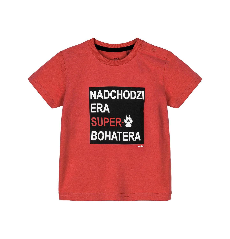 Endo - T-shirt z krótkim rękawem dla dziecka 0-3 lata N91G025_1