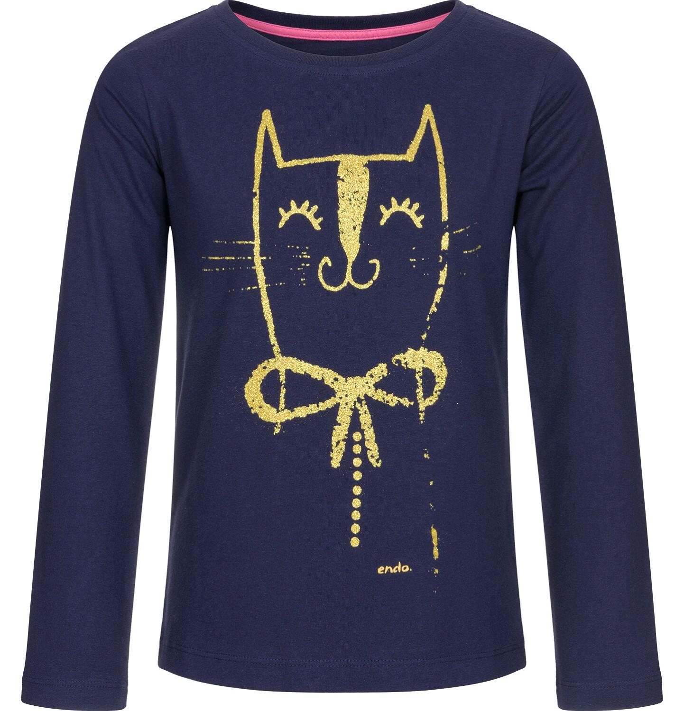 Endo - T-shirt z długim rękawem dla dziewczynki 3-8 lat D92G024_2