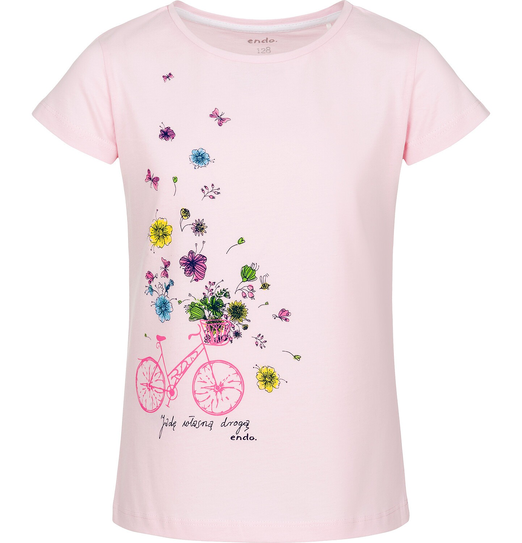 Endo - T-shirt z krótkim rękawem dla dziewczynki 9-13 lat D91G640_1