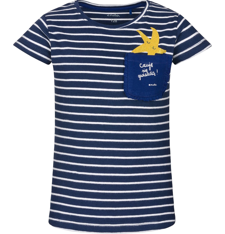 Endo - T-shirt z krótkim rękawem dla dziewczynki 3-8 lat D91G143_1