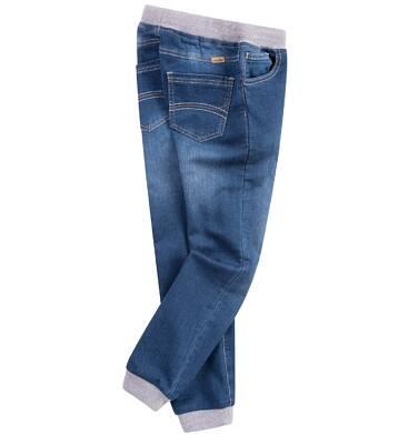 Endo - Jeansy z dzianinowymi ściągaczami dla chłopca C61K002_2