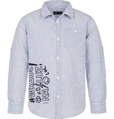 Koszula z długim rękawem dla chłopca 9-13 lat C91F507_1