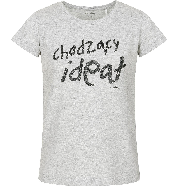 Endo - T-shirt z krótkim rękawem dla dziewczynki 3-8 lat D91G152_1