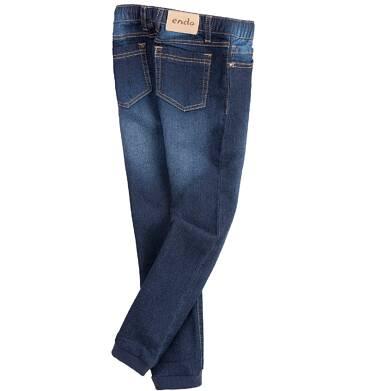 Endo - Jeansy ze sciągaczami dla dziewczynki D61K001_1