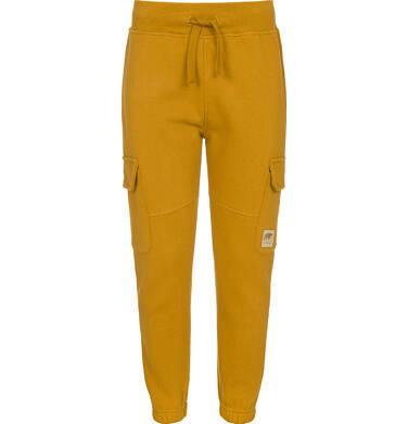 Endo - Spodnie dresowe dla chłopca, żółte, 3-8 lat C92K016_2