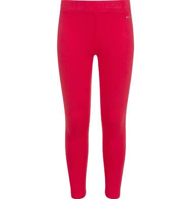 Endo - Legginsy dla dziewczynki, czerwone D04K001_4 9