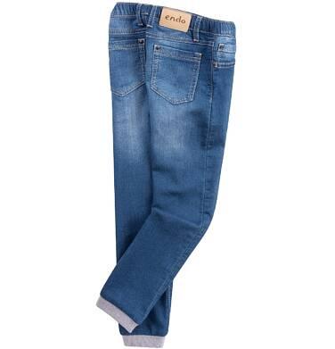 Endo - Jeansy ze sciągaczami dla dziewczynki D61K001_2