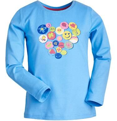 Endo - Bluzka z długim rękawem dla dziewczynki 3-8 lat D82G105_1
