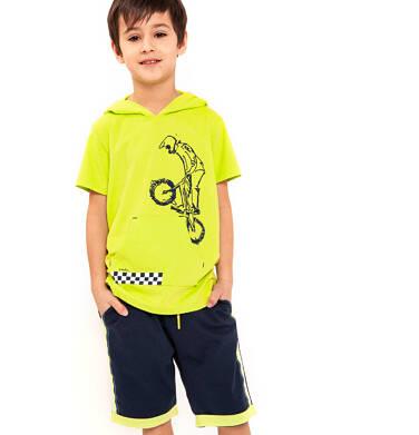 Endo - Krótkie spodenki dresowe dla chłopca 9-13 lat C91K508_1