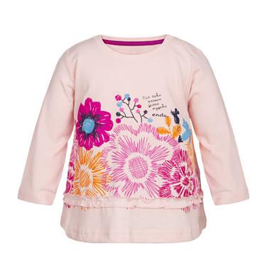 Endo - T-shirt z długim rękawem dla dziecka 0-3 lata N82G025_2