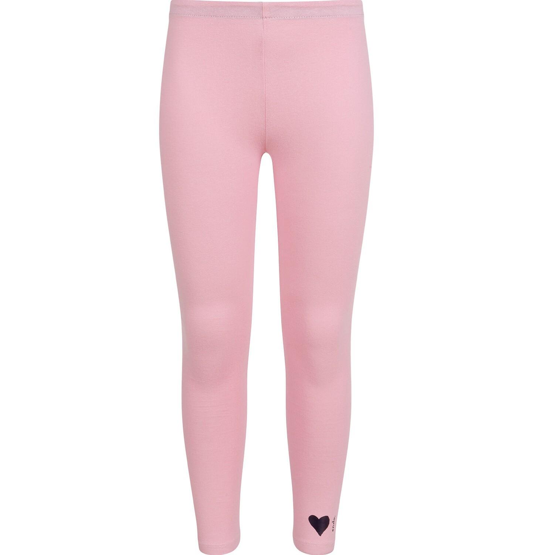 Endo - Legginsy dla dziewczynki, różowe D04K007_2