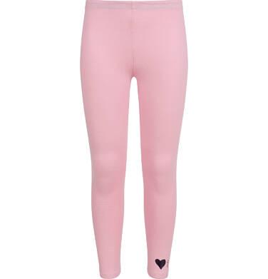 Legginsy dla dziewczynki, różowe D04K007_2