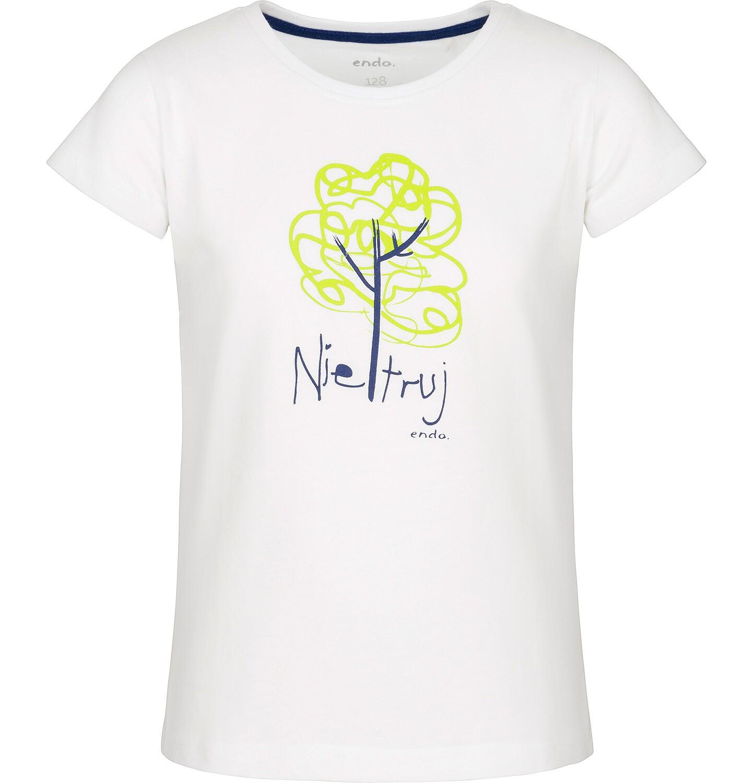 Endo - T-shirt z krótkim rękawem dla dziewczynki 3-8 lat D91G157_1