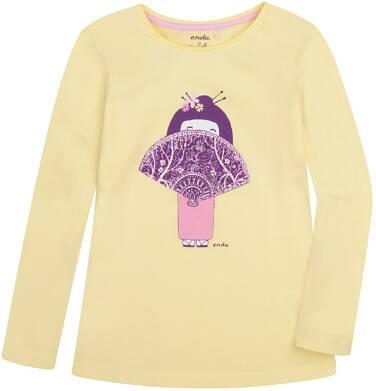 Endo - Bluzka z długim rękawem  dla dziewczynki 3-8 lat D72G045_1