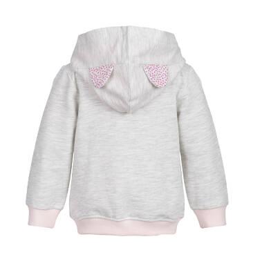 Endo - Bluza z kapturem rozpinana dla niemowlaka N82C001_1
