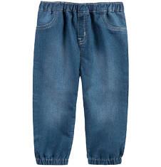 Jeansy ze ściągaczami dla niemowlaka N61K001_2