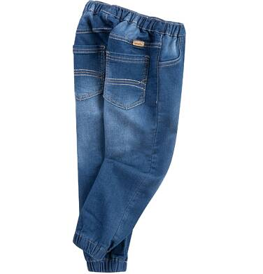 Endo - Jeansy ze ściągaczami dla niemowlaka N61K001_2