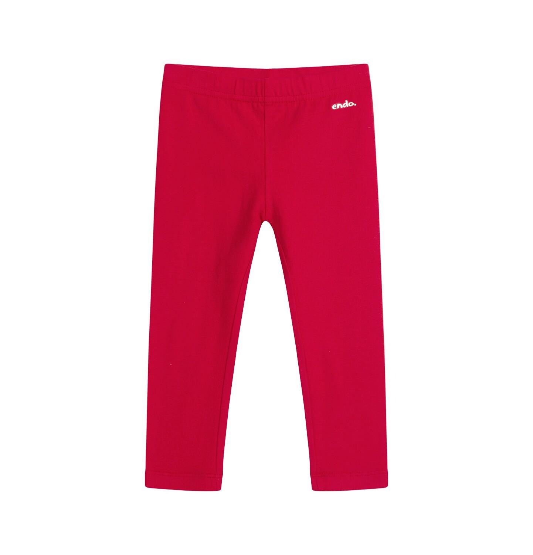 Endo - Legginsy dla dziecka, czerwone N04K001_4