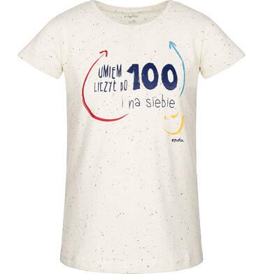 Endo - T-shirt z krótkim rękawem dla dziewczynki 3-8 lat D91G160_1