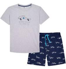 Endo - Piżama z krótkimi spodniami męska Q72V005_1