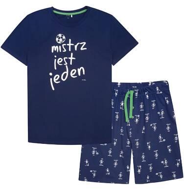 Piżama z krótkimi spodniami męska Q72V006_1
