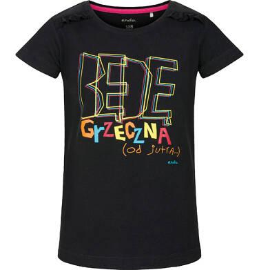 T-shirt z krótkim rękawem dla dziewczynki 3-8 lat D91G161_1