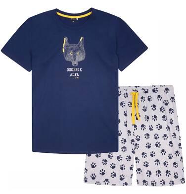 Endo - Piżama z krótkimi spodniami męska Q72V007_1