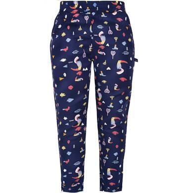 Spodnie z tkaniny dla dziewczynki 9-13 lat D81K532_1