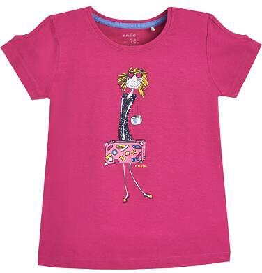 Endo - T-shirt z krótkim rękawem dla dziewczynki 9-13 lat D81G675_1
