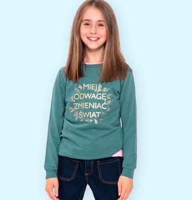 Endo - Bluza dla dziewczynki, zielona, 9-13 lat D04C037_1 10