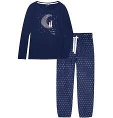 Endo - Piżama z długimi spodniami damska Y72V003_1
