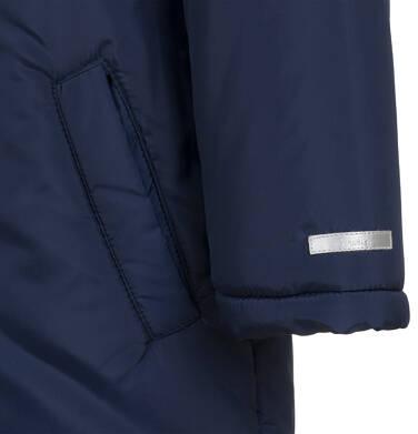 Endo - Długa kurtka parka zimowa z kapturem, granatowa, 2-8 lat C04A017_1,6