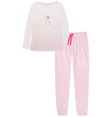 Endo - Piżama z długimi spodniami damska Y72V004_1