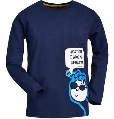 """Endo - """"Jestem twoim idolem"""" T-shirt z długim rękawem dla chłopca 9-13 lat C82G580_1"""