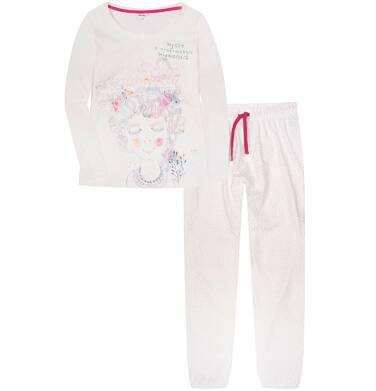 Endo - Piżama z długimi spodniami damska Y72V005_1