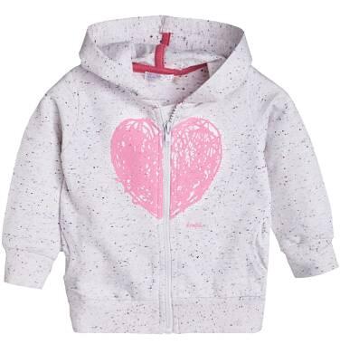 Rozpinana bluza z kapturem dla dziecka 0-3 lata N81C010_1