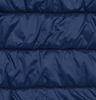 Endo - Długa kurtka zimowa z kapturem, granatowa, 9-13 lat D04A008_1,7