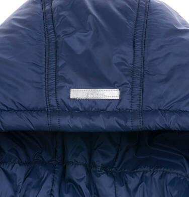 Endo - Długa kurtka zimowa z kapturem, granatowa, 9-13 lat D04A008_1,5
