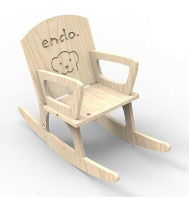 Endo - Misiowy fotel bujany SMM011_1