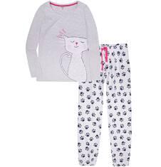 Endo - Piżama z długimi spodniami damska Y72V007_1