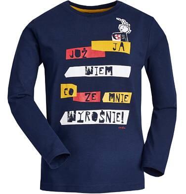 """Endo - """"Ja już wiem co ze mnie wyrośnie!"""" T-shirt z długim rękawem dla chłopca 9-13 lat C82G581_1"""