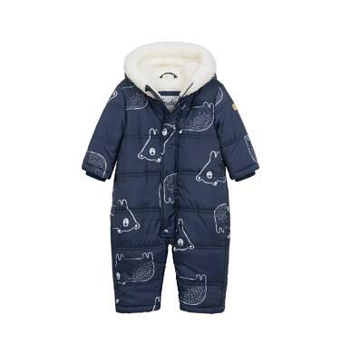Kombinezon zimowy dla małego dziecka, granatowy N04A003_1