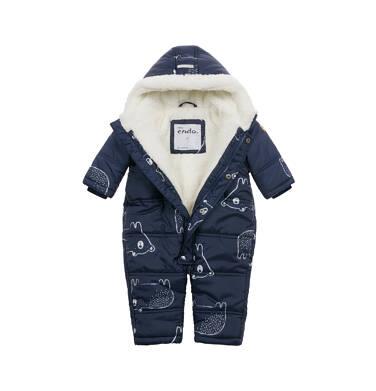 Endo - Kombinezon zimowy dla małego dziecka, granatowy N04A003_1 4