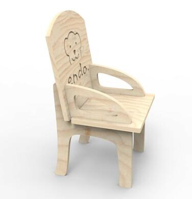 Endo - Misiowe krzesło dla małego Misia SMM012_1,3