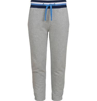 Endo - Spodnie dresowe dla chłopca, szary melanż, 5-8 lat C03K043_1 58