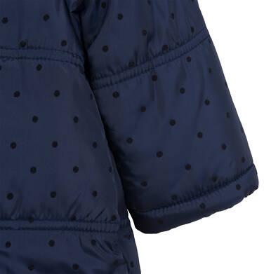 Endo - Kombinezon zimowy dla małego dziecka, z uszkami, granatowy N04A008_1,5