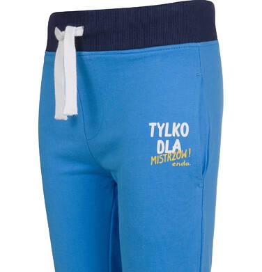 Endo - Spodnie dresowe dla chłopca, niebieskie, 2-8 lat C03K045_1 11