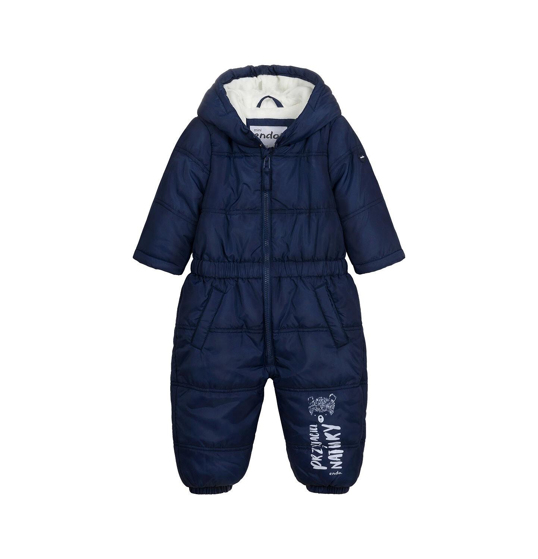 Endo - Kombinezon zimowy dla małego dziecka, granatowy N04A009_1