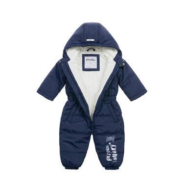 Endo - Kombinezon zimowy dla małego dziecka, granatowy N04A009_1,3