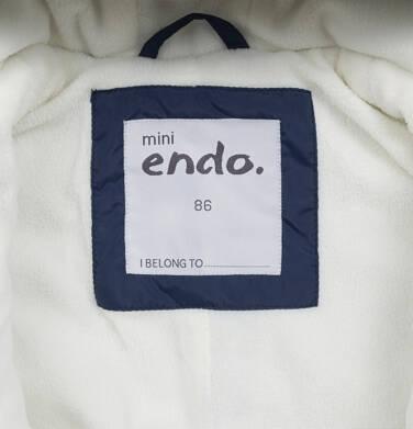 Endo - Kombinezon zimowy dla małego dziecka, granatowy N04A009_1,7